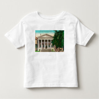 Exterior View of the Scottish Rite Temple Toddler T-shirt