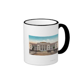 Exterior View of the Sonoma County Court House Coffee Mugs