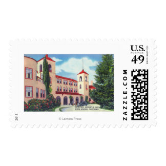 Exterior View of the Sonoma Mission Inn Postage