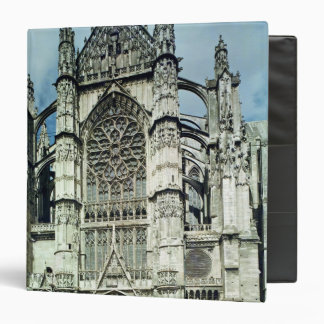 Exterior view of the south facade 3 ring binder