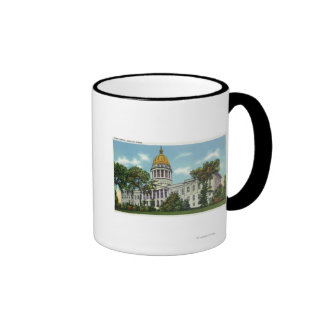 Exterior View of the State Capitol Building # 2 Coffee Mug