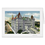 Exterior View of the State Capitol Building # Card