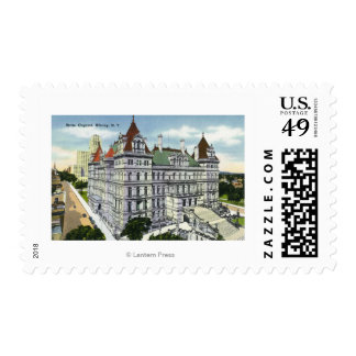 Exterior View of the State Capitol Building # Postage Stamp
