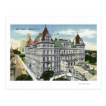 Exterior View of the State Capitol Building # Postcard