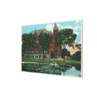 Exterior View of the State Normal School Canvas Print
