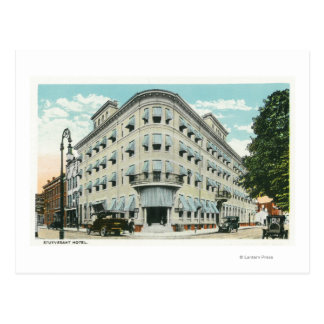 Exterior View of the Stuyvesant Hotel Post Cards