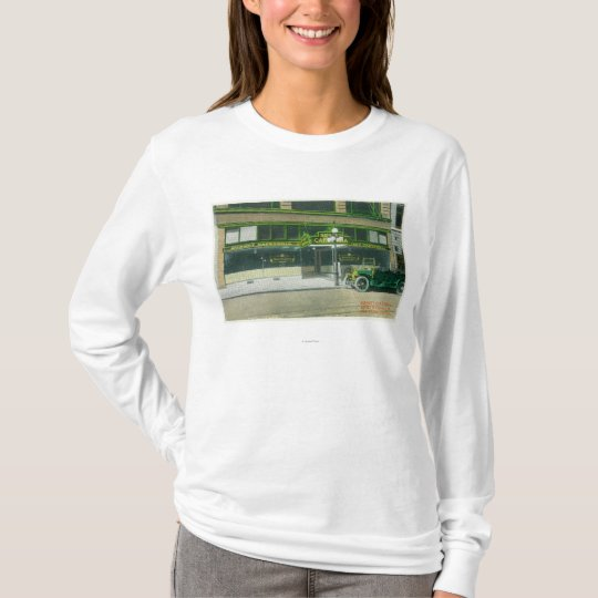 Exterior View of the Sunset Cafeteria T-Shirt