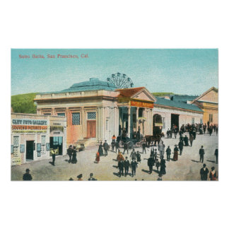 Exterior View of the Sutro Baths Posters
