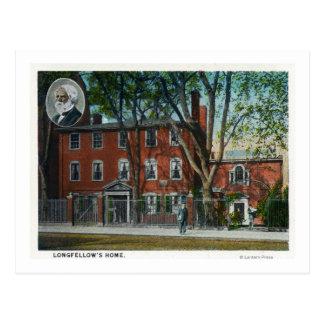 Exterior View of the Swett Art Memorial Postcard