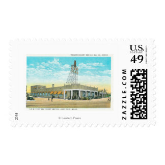 Exterior View of the Tecolote Cabaret Postage