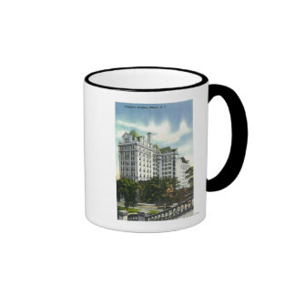 Exterior View of the Telephone Building # 2 Coffee Mugs
