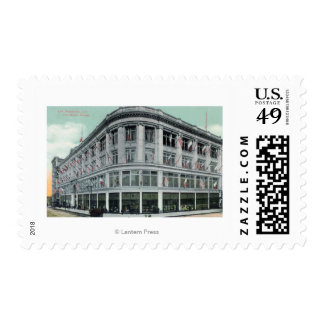 Exterior View of the White House Postage Stamp