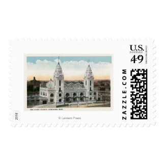 Exterior View of Union Station Postage Stamps