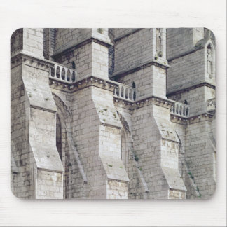 Exterior View showing the Buttresses Mouse Pad