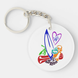 exterme sports all diff colors.png Double-Sided round acrylic keychain