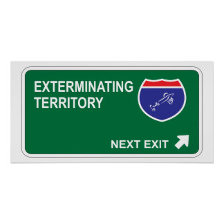 Exterminating Next Exit Poster