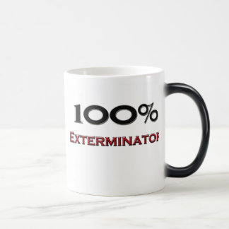 Exterminator del 100 por ciento taza de café