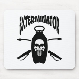 Exterminator Mouse Pad