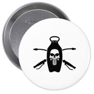 Exterminator Skull Button