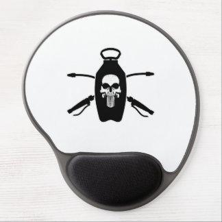 Exterminator Skull Gel Mousepad