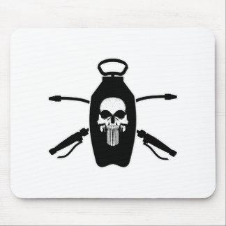 Exterminator Skull Mousepads