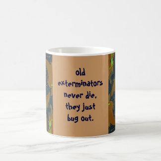exterminators bug out joke mug