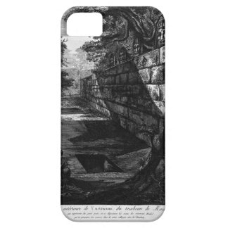 External view of the front door of the tomb iPhone SE/5/5s case