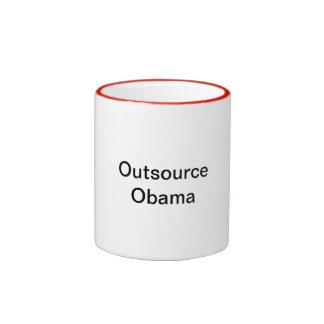 Externalice la taza de Obama
