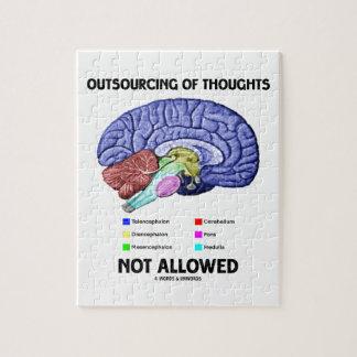 Externalización de los pensamientos no permitidos  puzzle