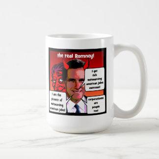 externalización Romney pionero Taza De Café