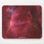 Externo-Espacio de la nebulosa del ssro de la regi Alfombrillas De Ratón