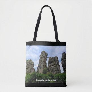 Externsteine 001.02.2.T, Teutoburg Forest Tote Bag