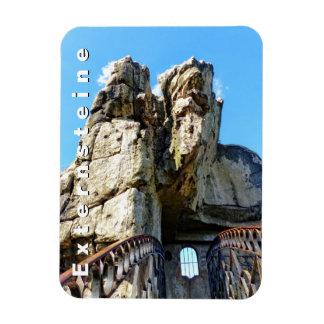 Externsteine II 004.T, Teutoburg Forest Rectangular Photo Magnet