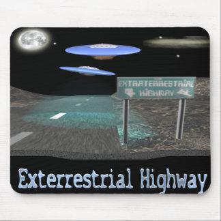 exterrestrialhighwaymousepad mouse pad