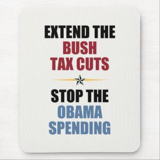 Extienda las reducciones de impuestos de Bush Alfombrilla De Ratones