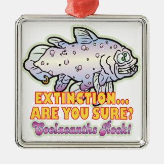 Extinción Coelacanth Ornamento Para Reyes Magos