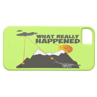 Extinción del dinosaurio iPhone 5 Case-Mate protector
