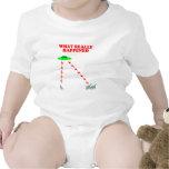 Extinción divertida del dinosaurio traje de bebé