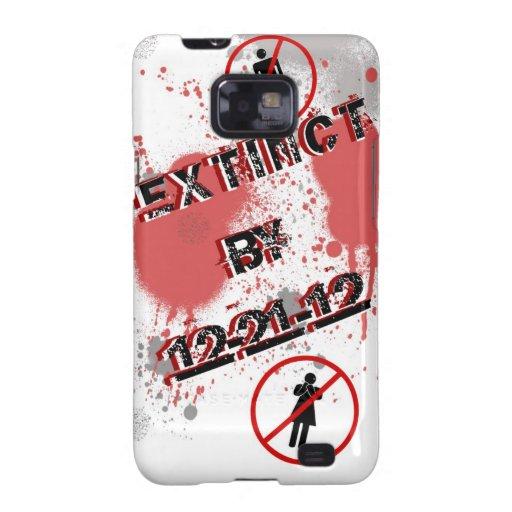 Extinct 12-21-12 Galaxy S Case Samsung Galaxy S2 Case