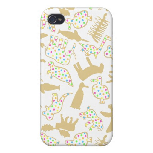 Extinct Animal Crackers iPhone4 Speck Case Cover For iPhone 4