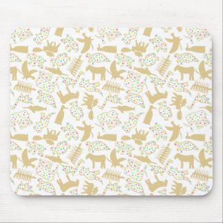 Extinct Animal Crackers Mousepad