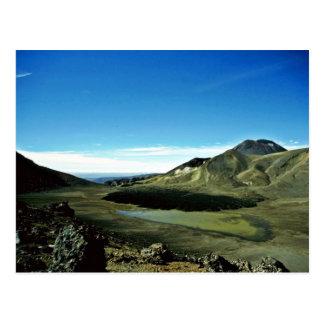 Extinct Crater Tongariro National Park, North Isla Postcard