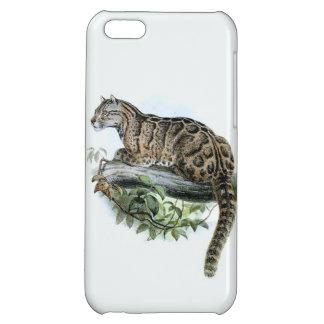 Extinct Formosa Leopard Jungle Cat Cover For iPhone 5C