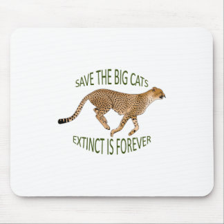 EXTINCT IS FOREVER MOUSE PAD