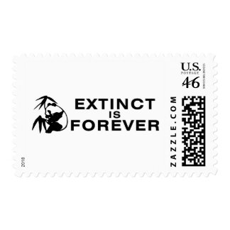 Extinct Is Forever Stamps