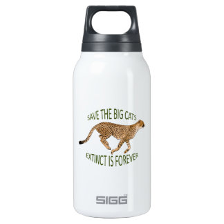 EXTINCT IS FOREVER 10 OZ INSULATED SIGG THERMOS WATER BOTTLE