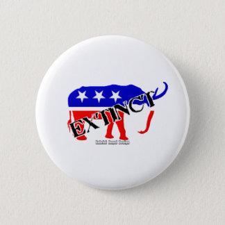 Extinct Republican Button