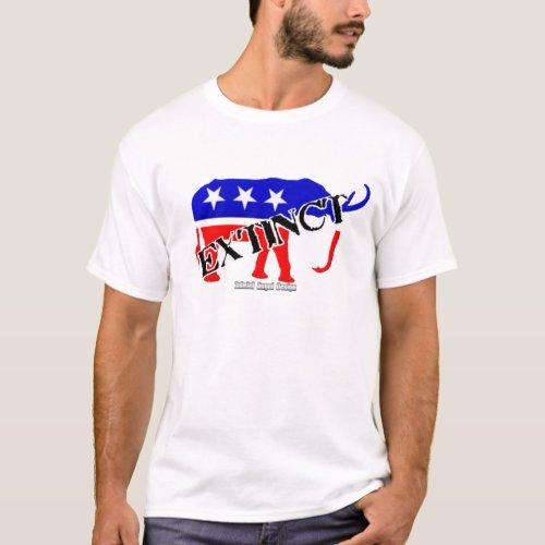 Extinct Republican T_Shirt