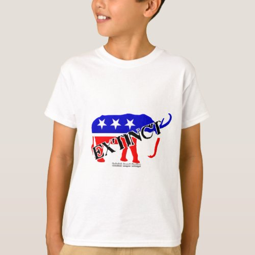 Extinct Republican T_Shirt