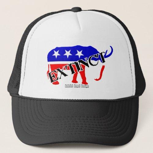 Extinct Republican Trucker Hat